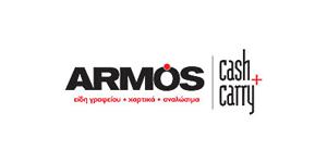 ARMOS χαρτικά logo