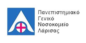 Πανεπιστημιακό Νοσοκομείο Λάρισας logo